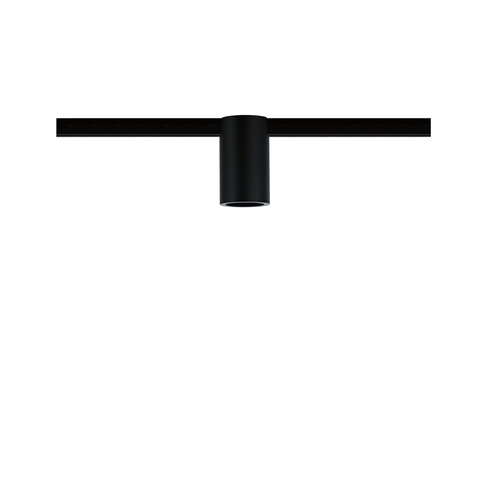 Paulmann URail Spot Ceiling Socket Schwarz max. 1x20W E27 dimmbar ohne Leuchtmittel