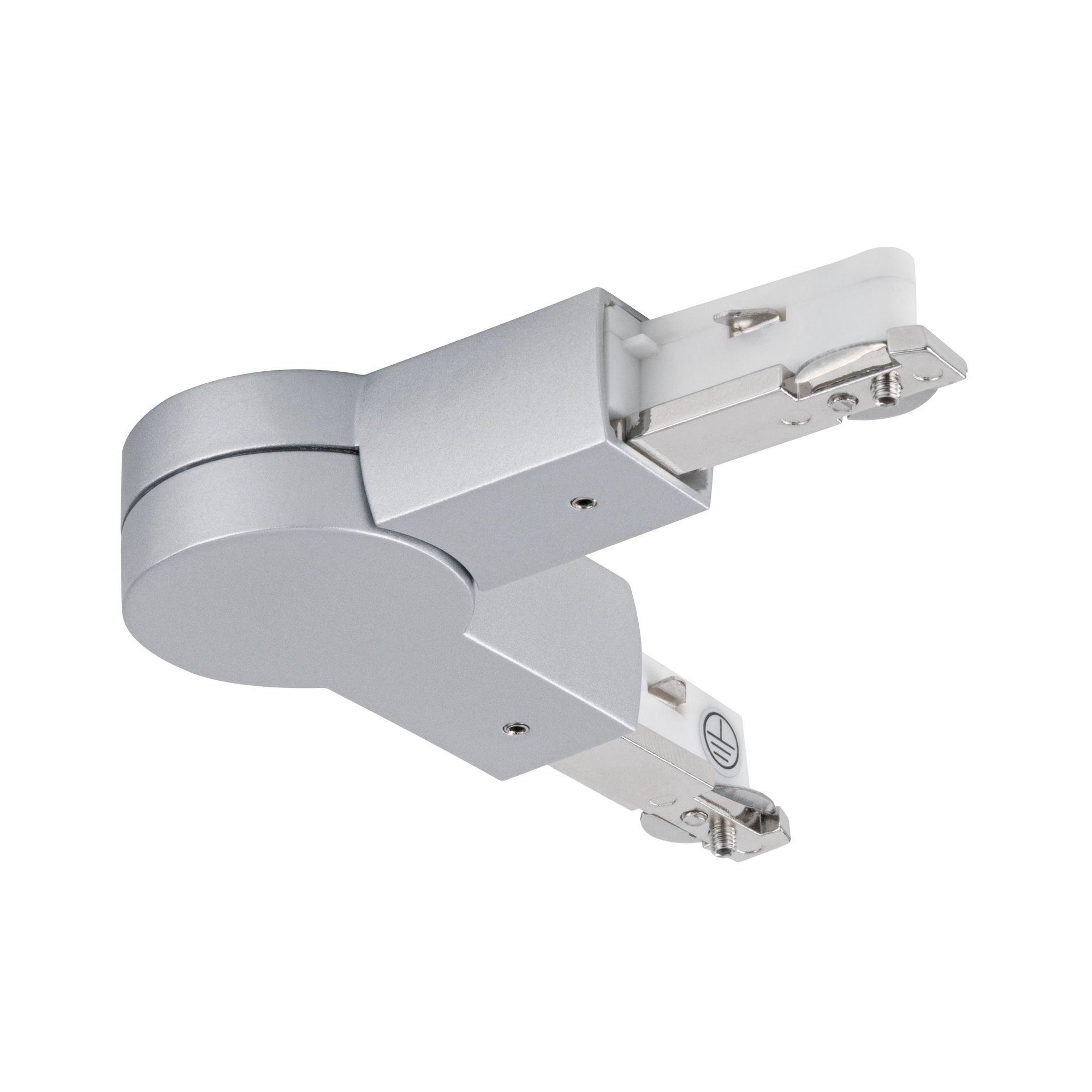 Paulmann URail Gelenk-Verbinder Chrom matt max. W 230V