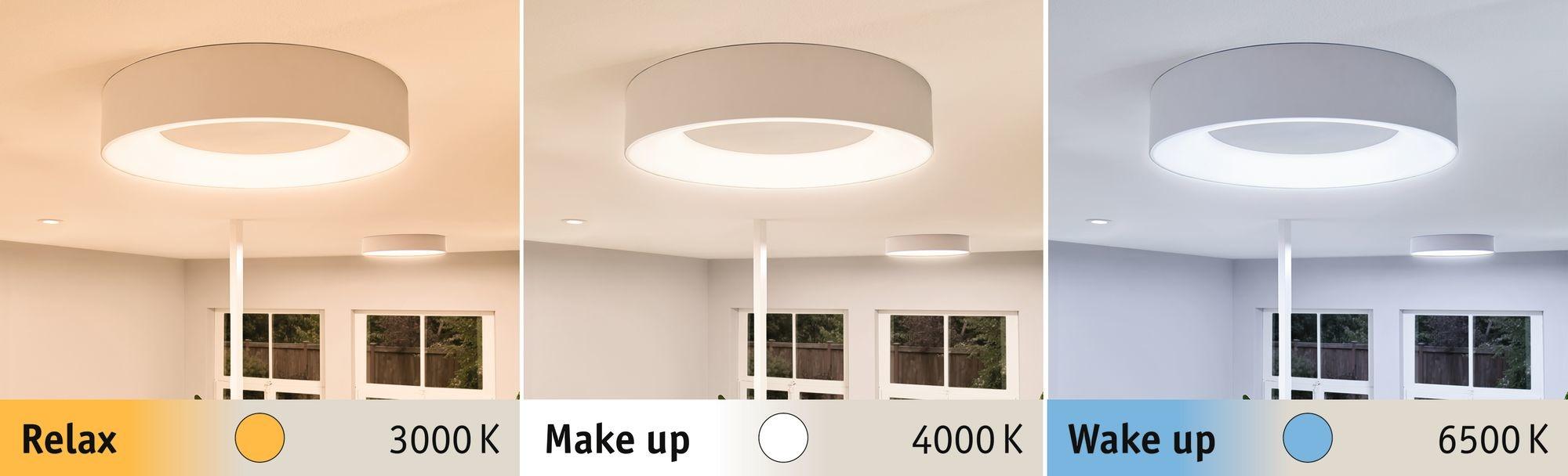 Paulmann HomeSpa LED Deckenleuchte Casca Weiß 23W WhiteSwitch 3.000K
