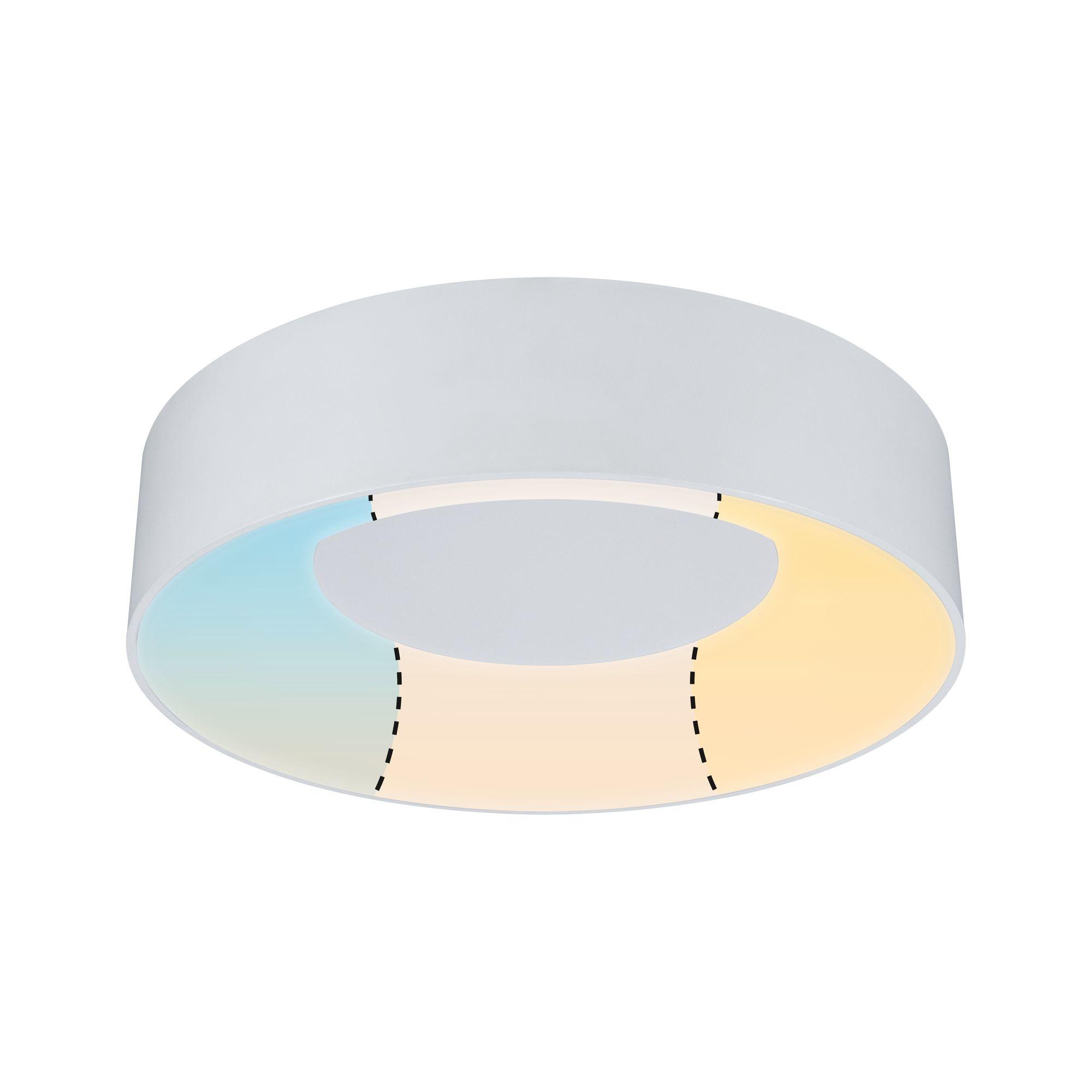 Paulmann HomeSpa LED Deckenleuchte Casca Weiß 16W WhiteSwitch 3.000K
