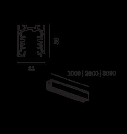 WEVER & DUCRÉ Schiene für 3-Phasen System