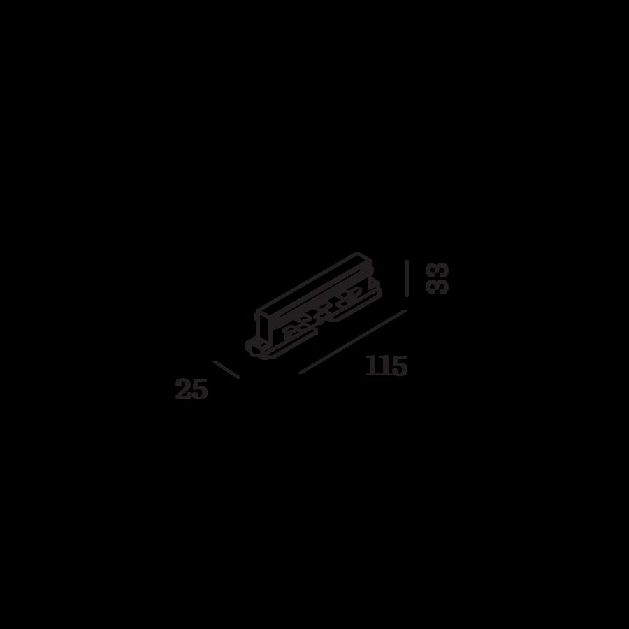 WEVER & DUCRÉ Verbinder für das 3-Phasen System