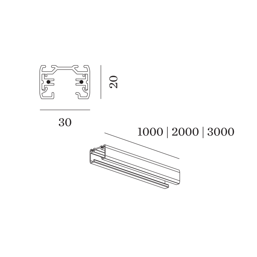 WEVER & DUCRÉ Schienen für 1-Phasen System