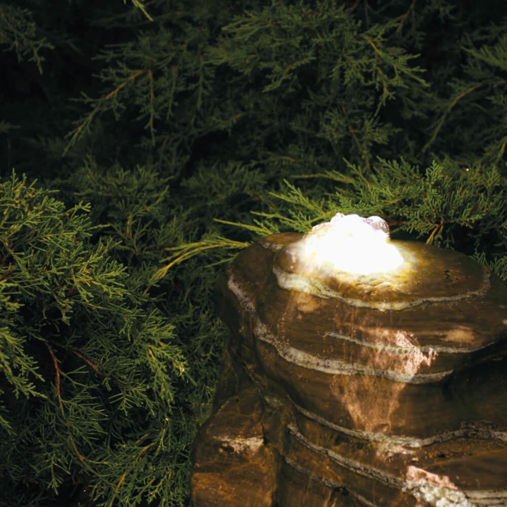dot-spot Quellstein Leuchte spring-led