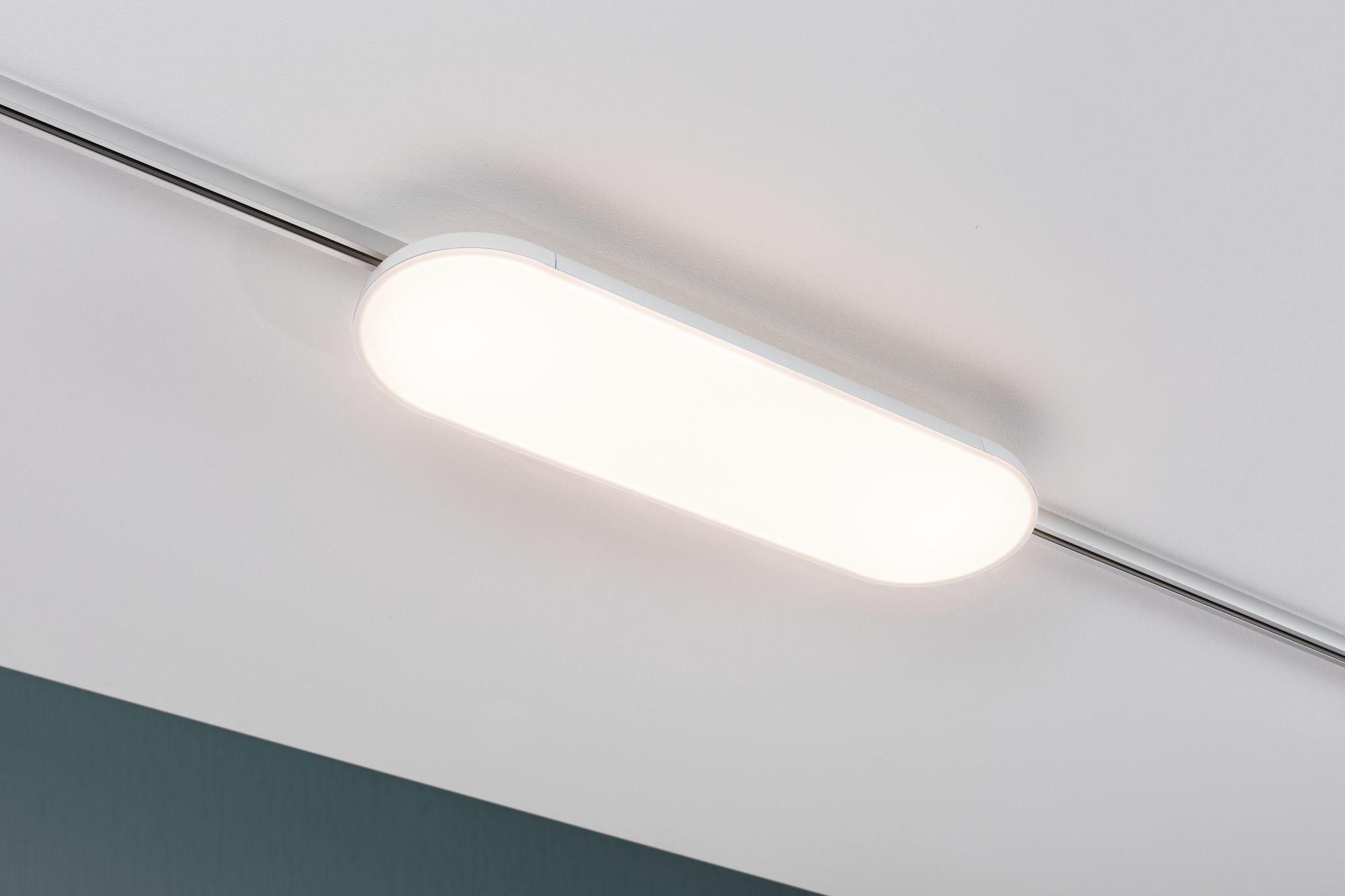 Paulmann URail LED Panel Deck 13,5W Weiß 3.000K Metall
