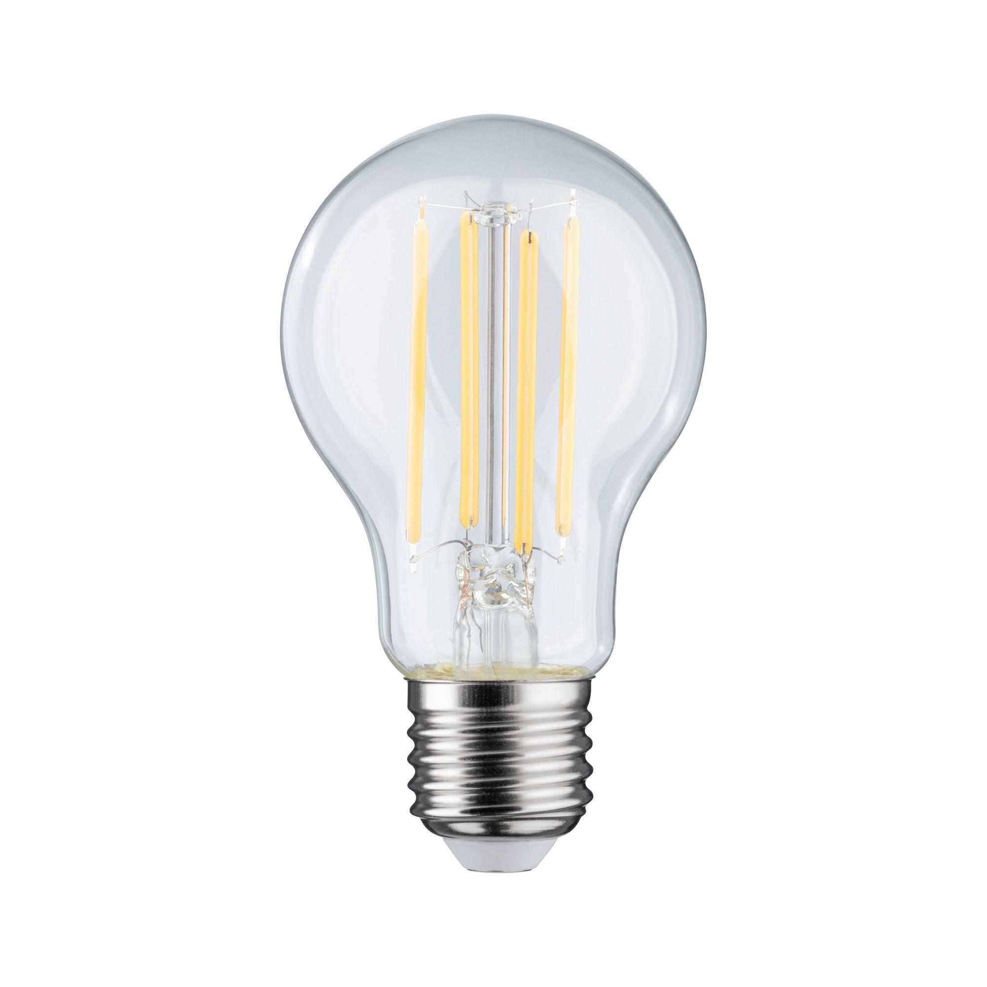 Paulmann LED Standardform 7,5 Watt E27 Klar Warmweiß dimmbar