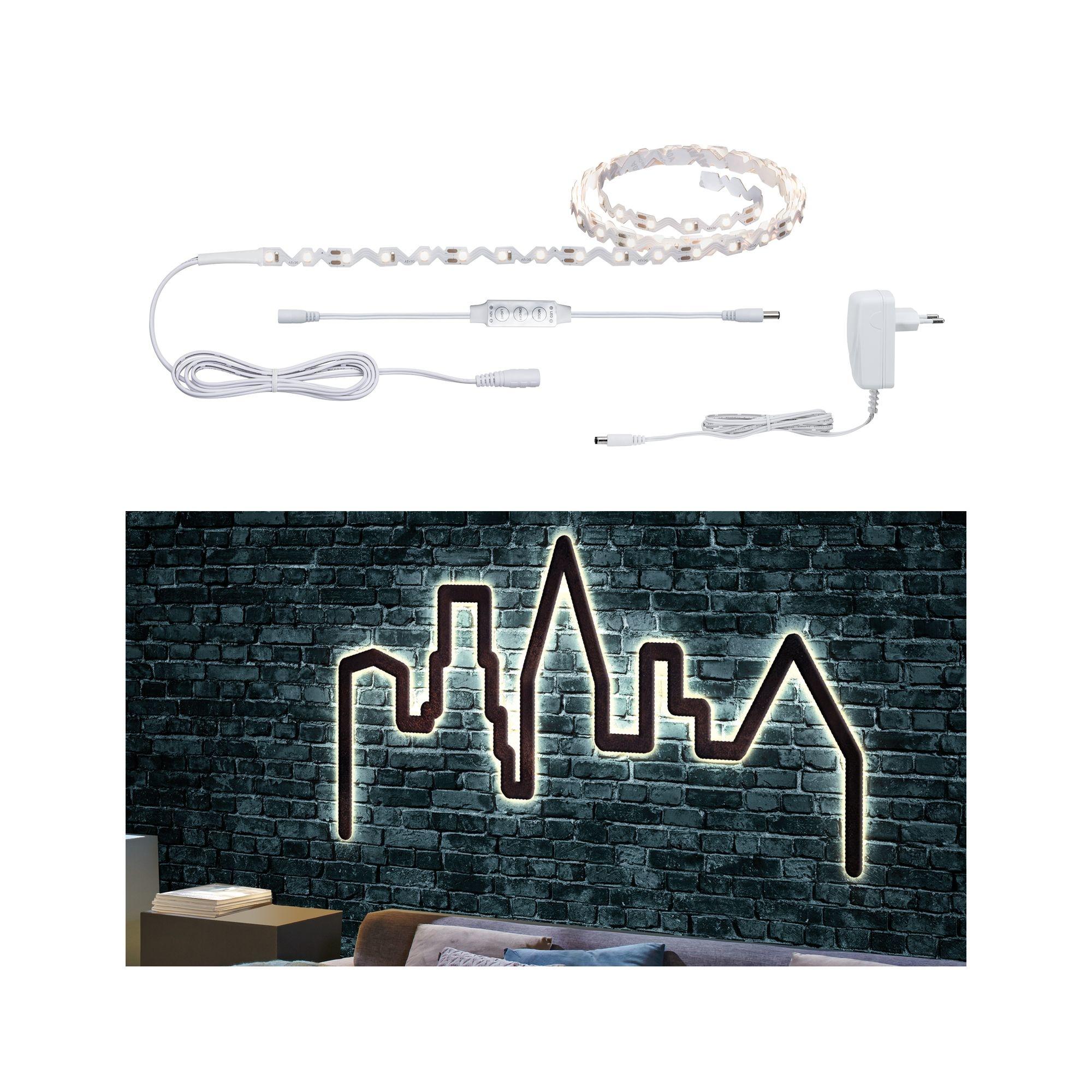 Paulmann FlexLED 3D Basisset 1,5m Warmweiß Leuchtschrift selber machen