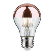LED Standardform 6,5 Watt E27 Kopfspiegel Kupfer Warmweiß