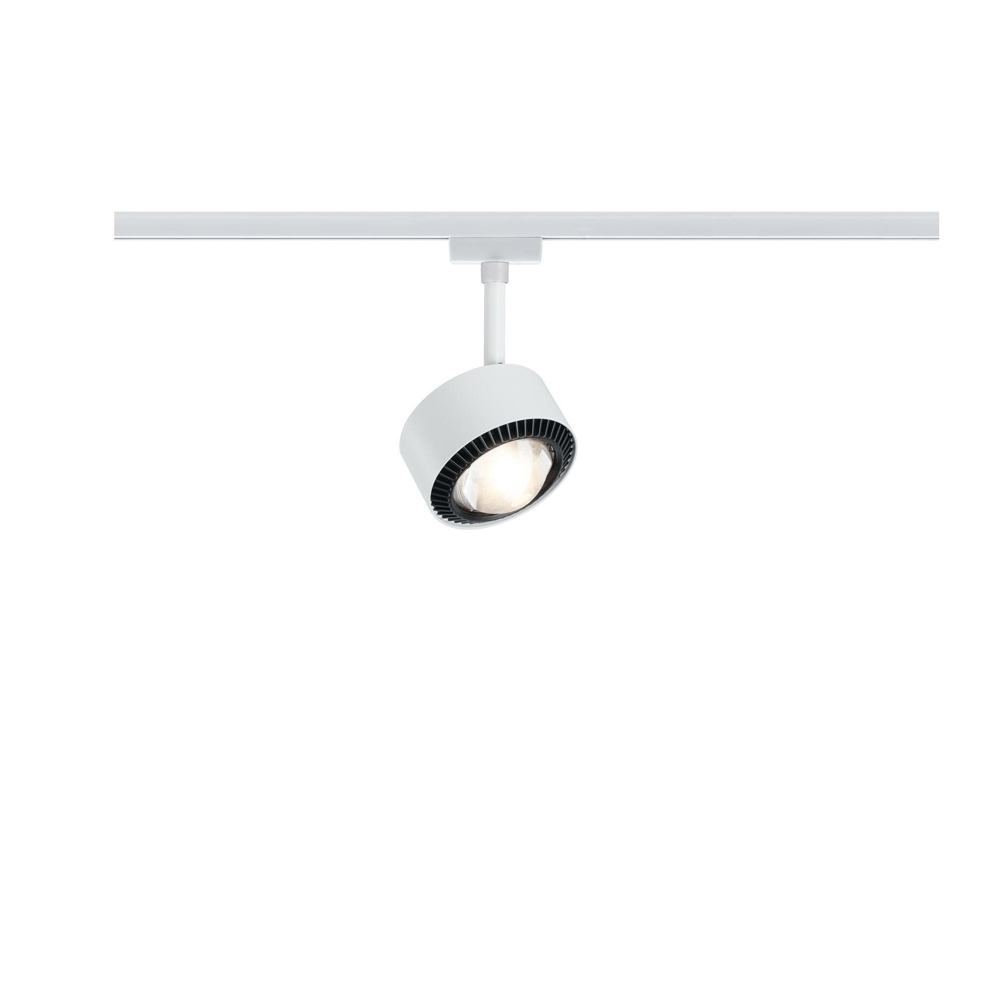 Paulmann URail LED Spot Aldan II 1x8W Weiß#Schwarz 2.700K dimmbar