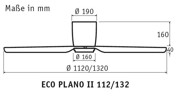 CasaFan Eco Plano II 132