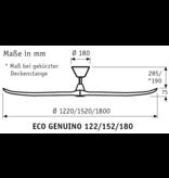 CasaFan Energiespar Deckenventilator ECO GENUINO 180