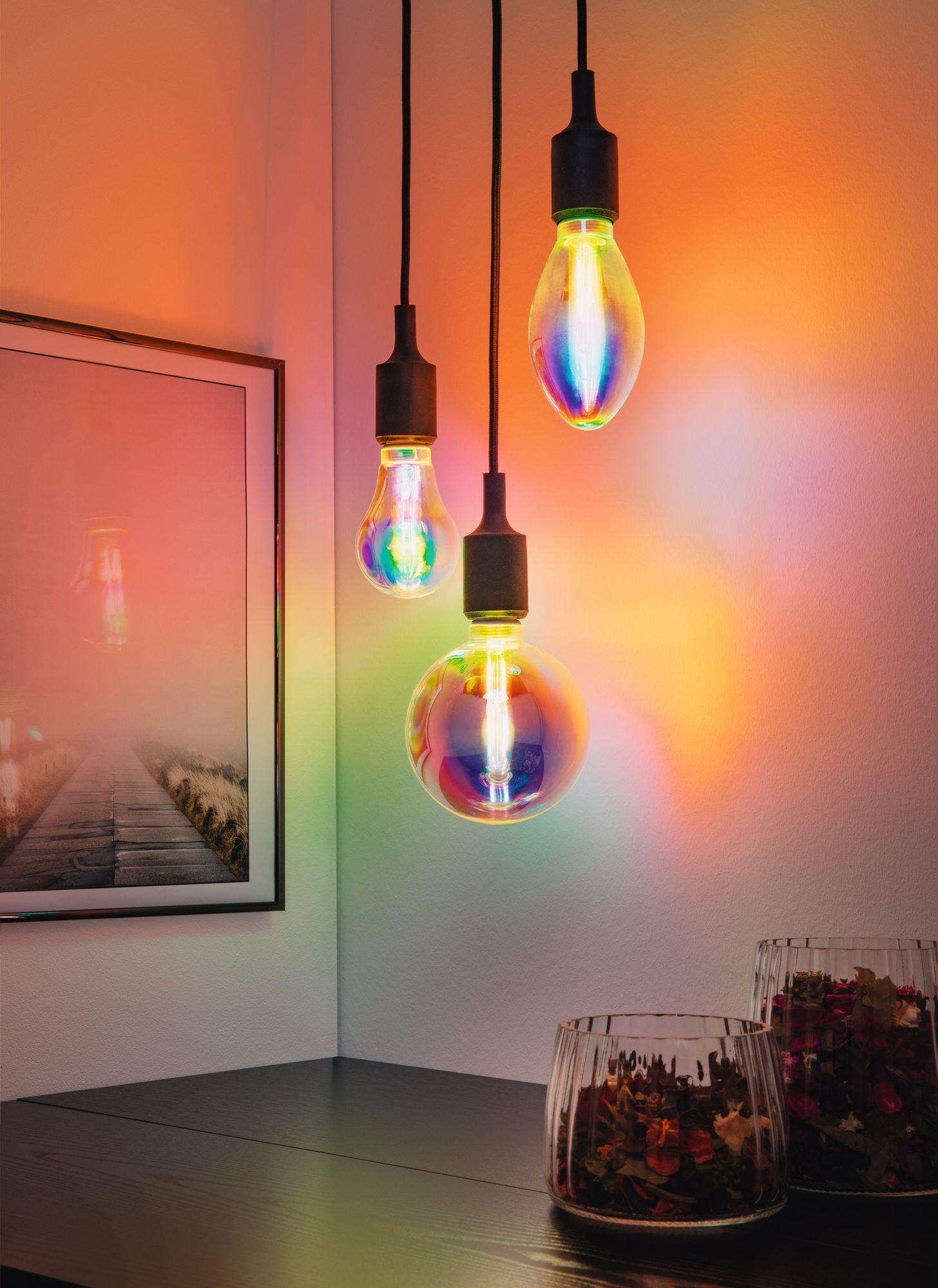 Paulmann LED B75 Fantastic Colors Inner Tube E27 2.700K dimmbar