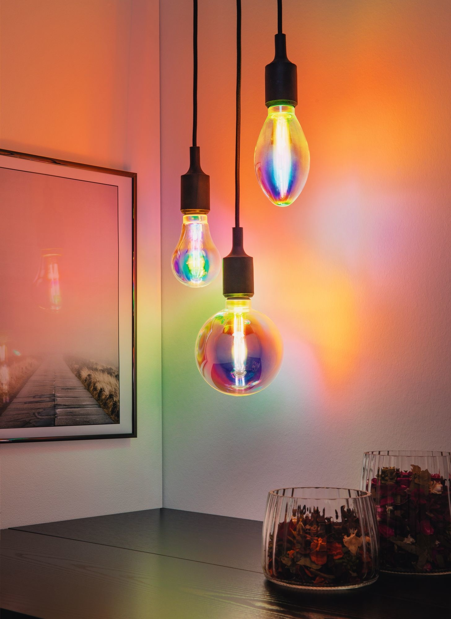 Paulmann LED G125 Fantastic Colors Inner Tube E27 2.700K dimmbar