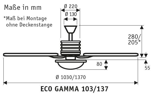 CasaFan ECO GAMMA 137