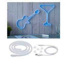 Neon Colorflex USB Strip Blue 1m 4,5W 5V Blau/Weiß Kunststoff