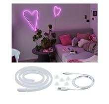 Neon Colorflex USB Strip Pink 1m 4,5W 5V Pink/Weiß Kunststoff