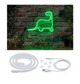 Paulmann Neon Colorflex USB Strip Green 1m 4,5W 5V Grün/Weiß Kunststoff