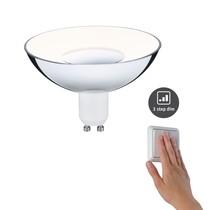LED Reflektor Silber/Weiß GU10 4,9W 230V 3-Stufen-dimmbar