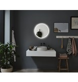 Paulmann HomeSpa LED Leuchtspiegel Mirra rund IP44 Spiegel/Weiß 21W WhiteSwitch