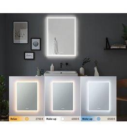 Paulmann HomeSpa LED Leuchtspiegel Mirra eckig IP44 Spiegel/Weiß 22W WhiteSwitch