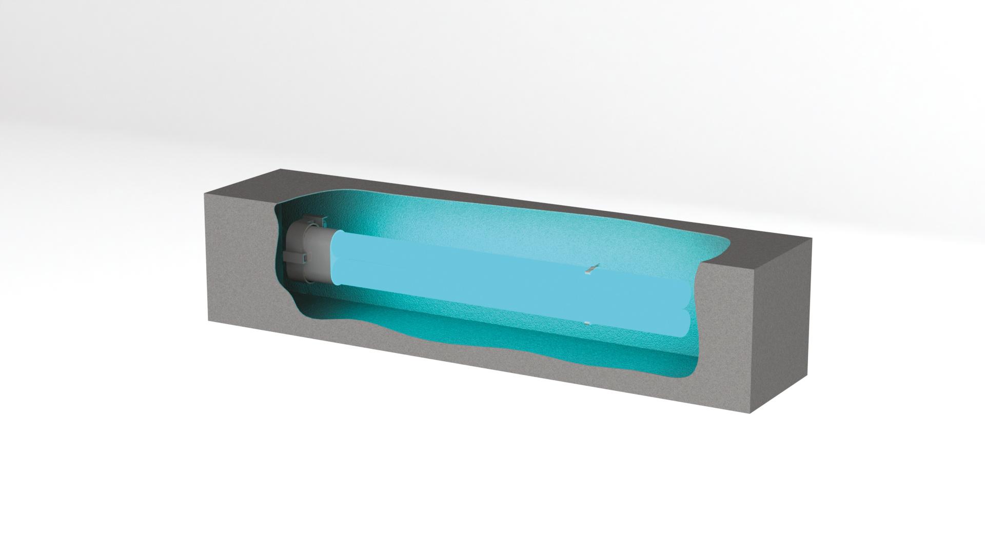 Beghelli Ersatzröhre SanificaAria30