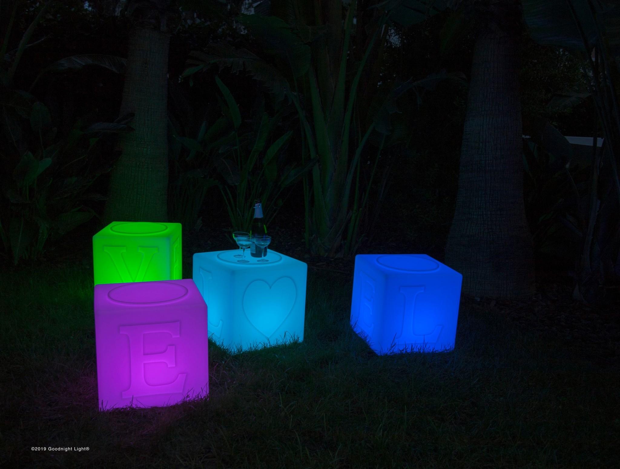 Goodnight Light® The LOVE lamp 43x43x43cm