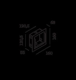 WEVER & DUCRÉ Oris 1.3 Gips-Kit + Einbaugehäuse
