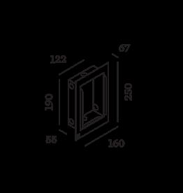 WEVER & DUCRÉ Oris 2.0 Gips-Kit + Einbaugehäuse