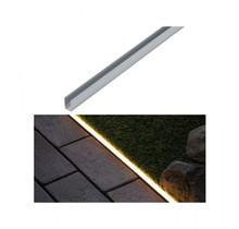 Plug & Shine LED Strip Profil Warmweiß Aluminiumprofil  1m