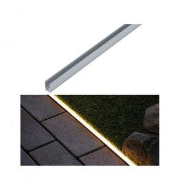 Paulmann Plug & Shine LED Strip Profil Warmweiß Aluminiumprofil  1m