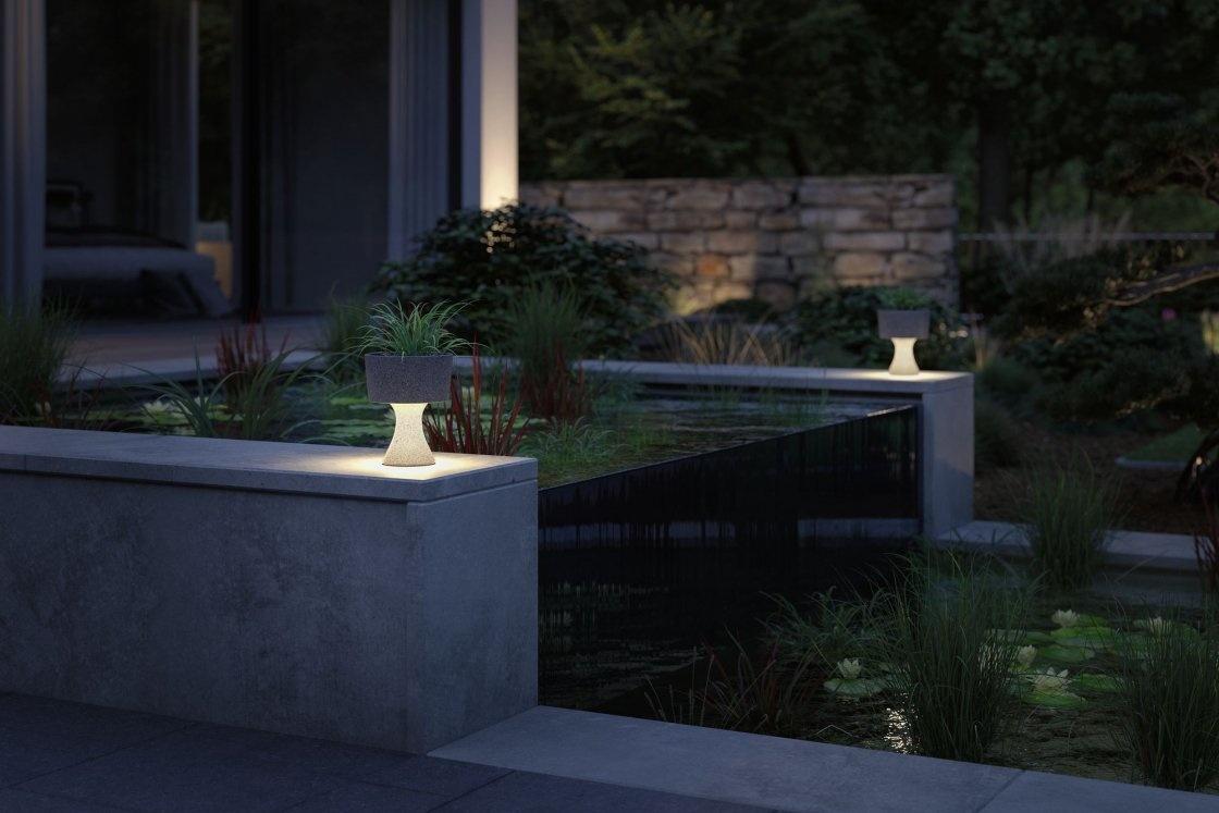 Paulmann  LED Lichtobjekt Concrea  IP65 210mm