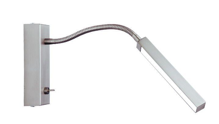 Busch Leuchten LED Schlauchwandleuchte m. Schalter 2 x 3,5 W