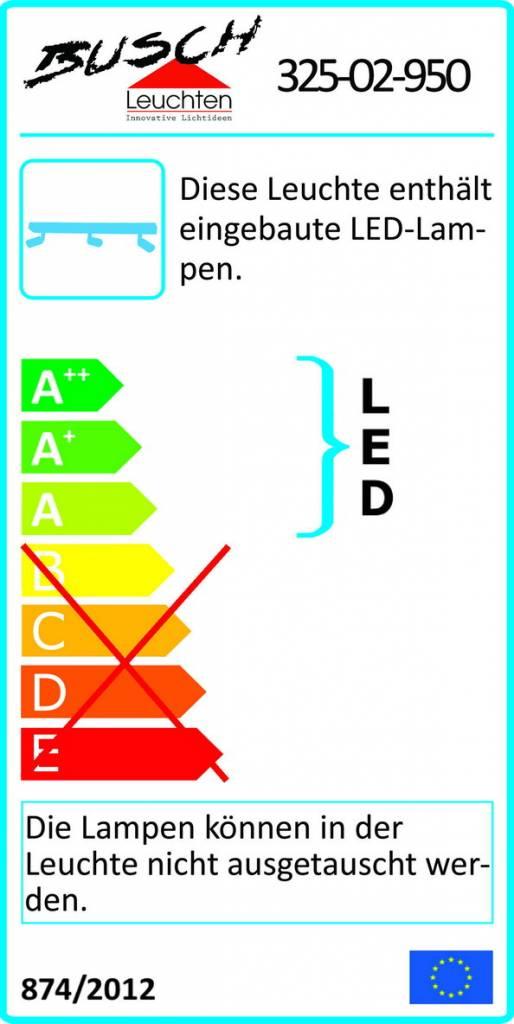 Busch Leuchten LED-Leiste 2-fl. 2 x 4,5 W