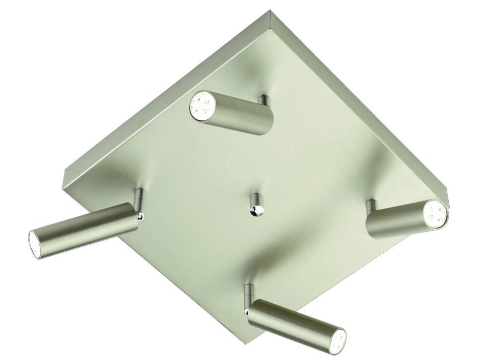 Busch Leuchten LED Quadroplatte 4 fl. 9 W