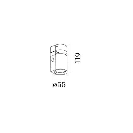 WEVER & DUCRÉ SQUBE ON BASE 1.0 PAR16