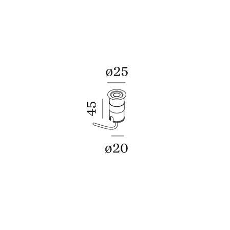 WEVER & DUCRÉ CARD 0.1 LED 3000K I