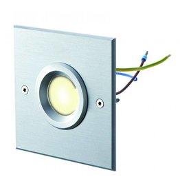 dot-spot object-light 230 V warmweiss Silber quadratisch