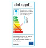 dot-spot side-light 230 V warmweiss weiß lackiert