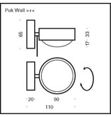 Top Light PUK WALL >> + << LED