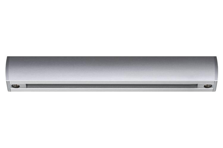 Paulmann URail System Light&Easy Schiene 0,1m Chrom matt 230V Metall