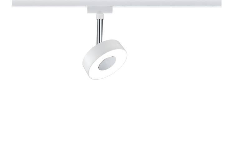 Paulmann URail System LED Spot Circle 1x5W Weiß 230V Metall