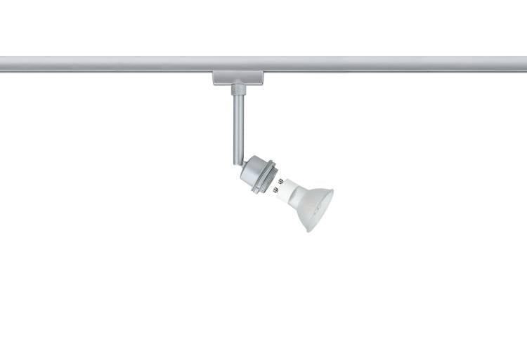 Paulmann URail System DecoSystems LED Spot 1x3,5W GZ10 230V Chrom matt Metall