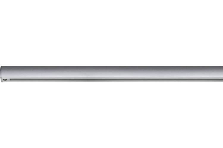 Paulmann URail System Light&Easy Schiene 0,5m Chrom matt 230V Metall