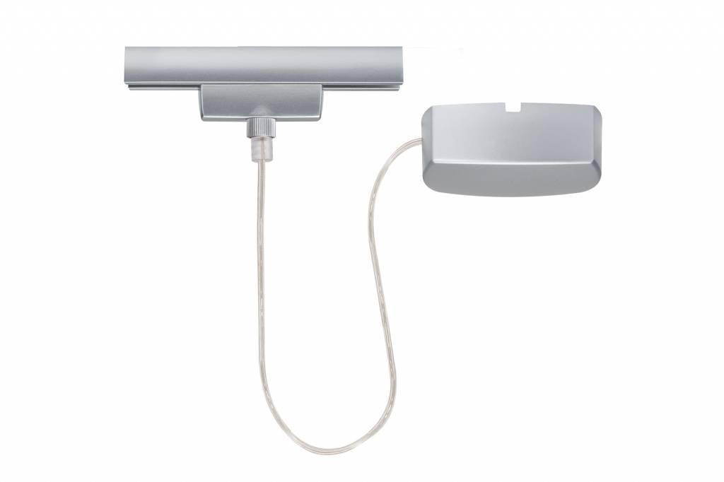Paulmann URail System Light&Easy Stromeinspeisung max.1000W Chrom matt 230V Metall