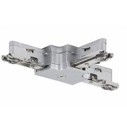 Paulmann URail System Light&Easy T-Verbinder 125mm max. 1000W Chrom matt 230V Metall
