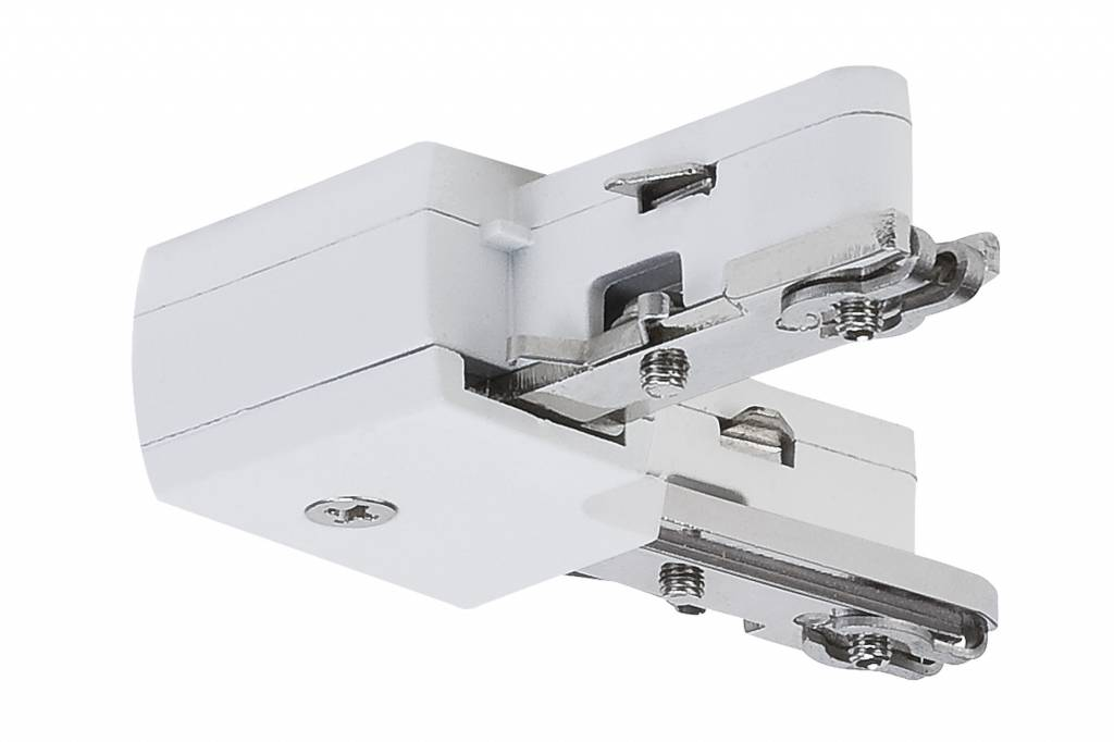 Paulmann URail System Light&Easy L-Verbinder starr Weiß 230V Metall