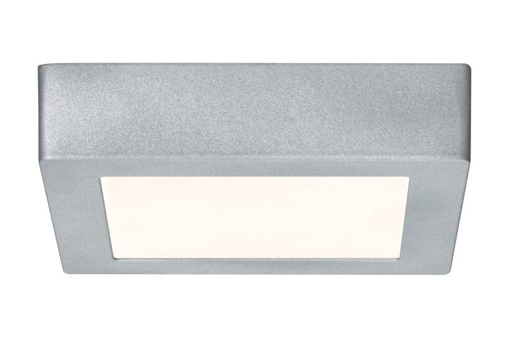 Paulmann WallCeiling Lunar LED-Panel 170x170mm 10,5W 230V Chrom matt Alu