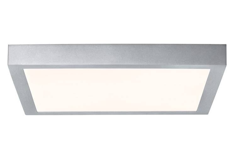 Paulmann WallCeiling Lunar LED-Panel 400x400mm 20,5W 230V Chrom matt Alu
