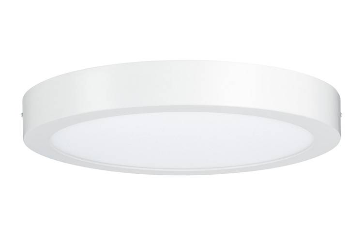 Paulmann WallCeiling Lunar LED-Panel 300mm 20W 230V Weiß matt Alu