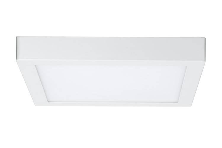 Paulmann WallCeiling Lunar LED-Panel 300x300mm 15,5W 230V Weiß matt Alu